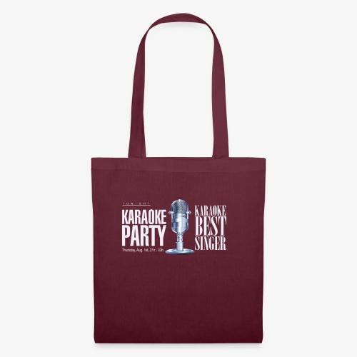 Karaoke party - Bolsa de tela