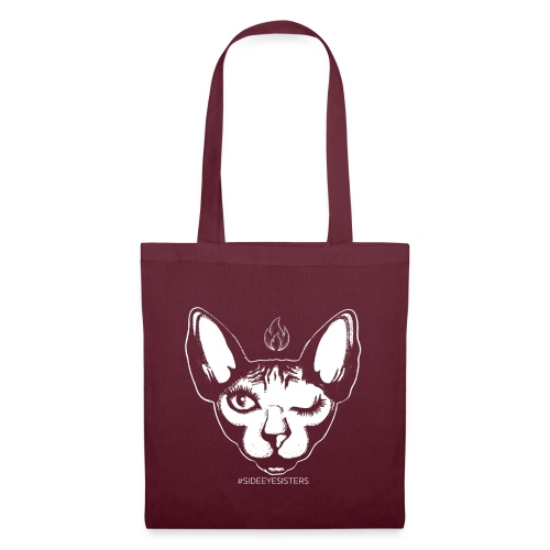 SIDE EYE SISTERS CAT - Tote Bag