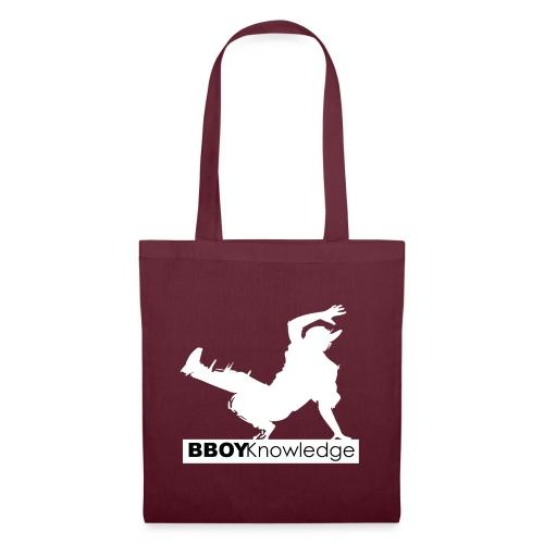 bboy knowledge Blanc & Noir - Tote Bag