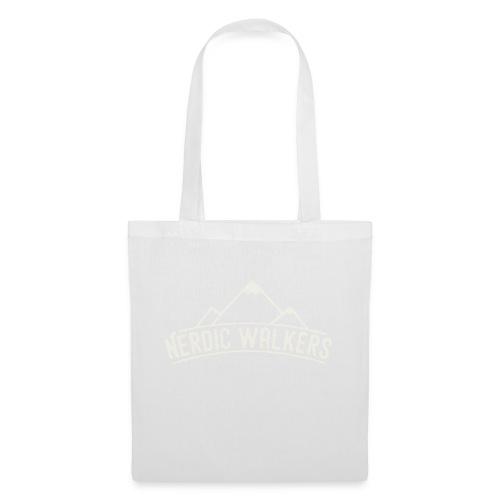 Logo Nerdic Walking offwhite - Sac en tissu