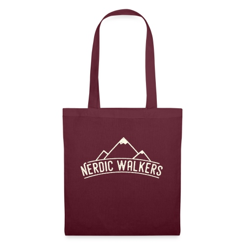 Logo Nerdic Walking offwhite - Tote Bag