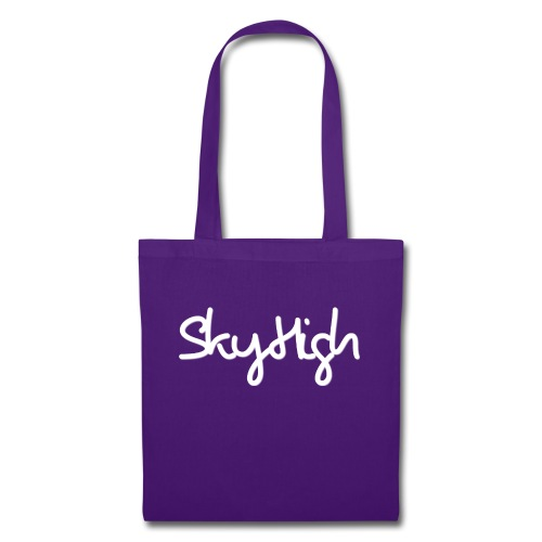 SkyHigh - Snapback - (Printed) White Letters - Tote Bag