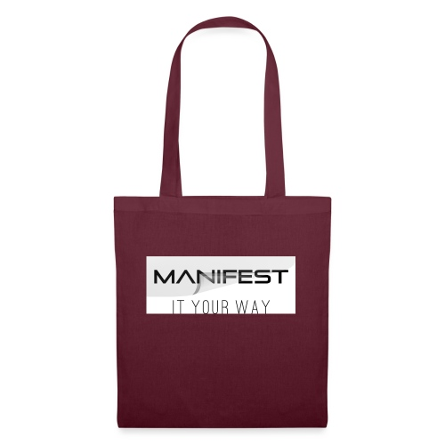 Manifest it your way - Stoffbeutel