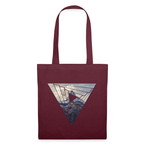 Matterhorn Zermatt Dreieck Design - Stoffbeutel