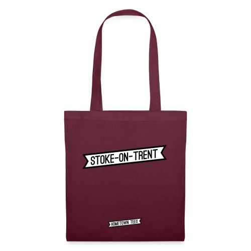stoke-on-trent banner - Tote Bag
