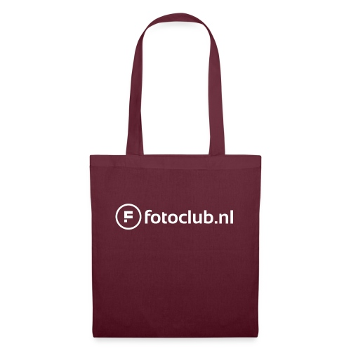 Logo Wit Fotoclublnl - Tas van stof