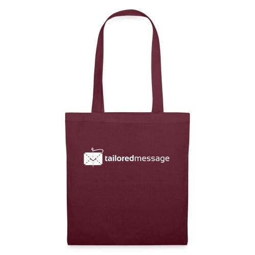 Tailored Message Black Tee - Stoffveske
