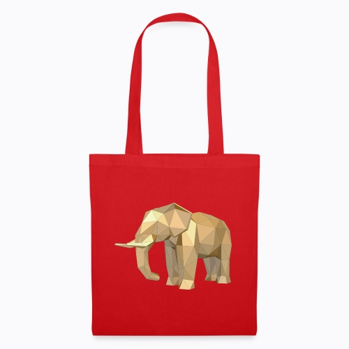 elephant geometric - Tote Bag