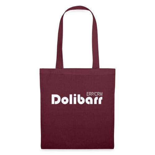 Dolibarr logo white - Tote Bag