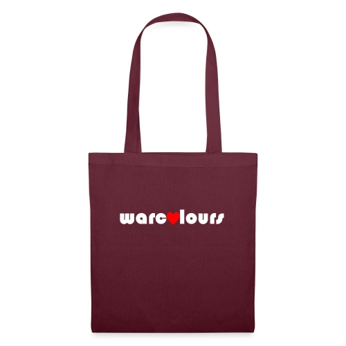 love warcolours white - Tote Bag
