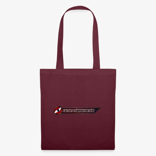 UltraSonicHero Title - Tote Bag