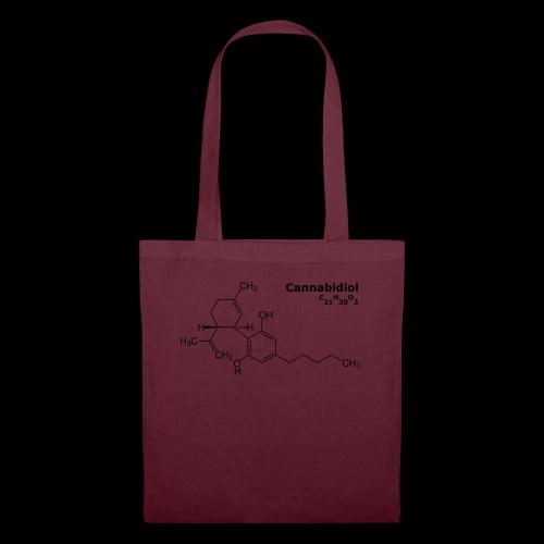 CBD Molekül - Stoffbeutel