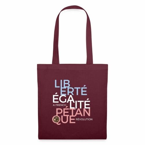 LIBERTE EGALITE PETANQUE - CLAIR - Tote Bag