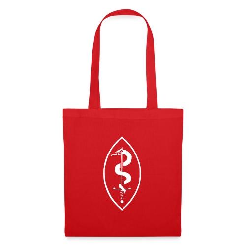 School of Mars Crest (White) - Tote Bag