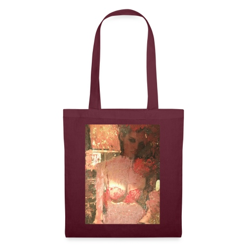Original Art: Seductive lady - Tote Bag