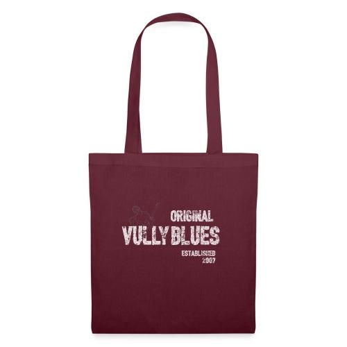 Ursprüngliches Vully Blues White Logo - Stoffbeutel