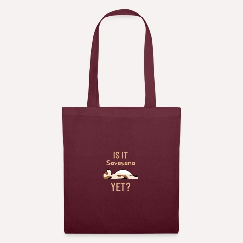 Yoga Pose Savasana Print On Demand Tshirts Apparel - Tote Bag
