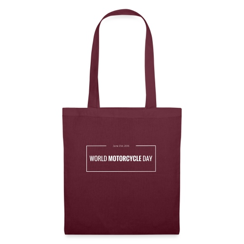 Official World Motorcycle Day 2016 Coffee Mug BLK - Tote Bag