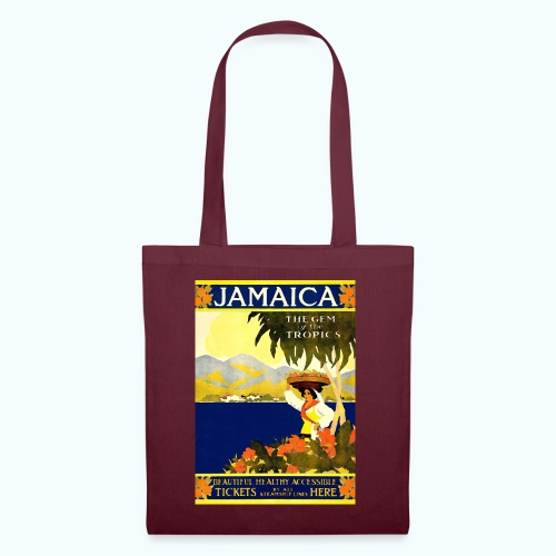 Jamaica Vintage Travel Poster - Tote Bag