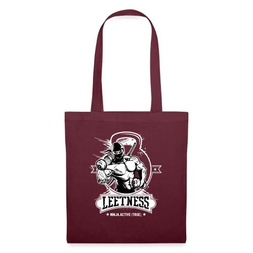 Leetness - Men's sports shirt - Tote Bag