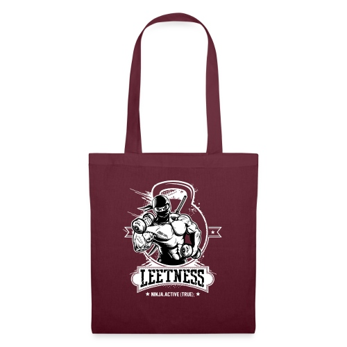 Leetness - Men's sports shirt - Tote Bag