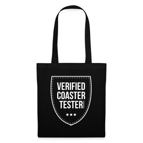 Badge CoasterTester vérifié - Sac en tissu