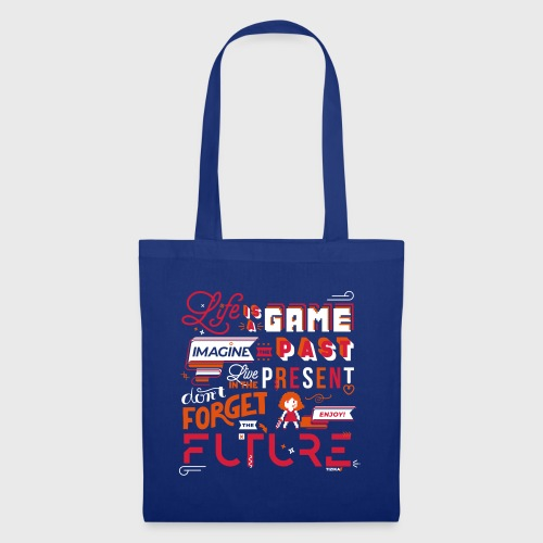 Life is a Game - Tote Bag