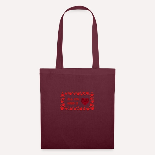 All You Need Is..Custom Design T-shirt Apparel - Tote Bag