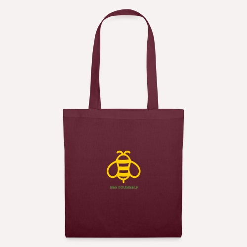 Bee Yourself Print Design. Stand Out Of The Crowd. - Tote Bag