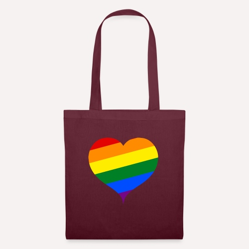 LBGT+ Colorfull Heart - Tote Bag