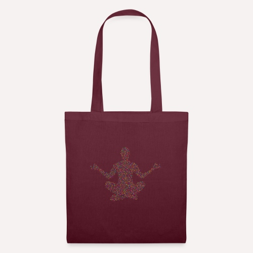 Yoga Pose Design For T-shirts and more Apparel - Tote Bag