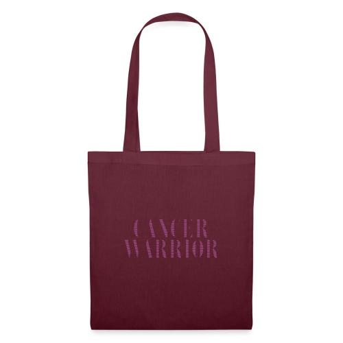 Cancer Warrior - kanker strijder - Tas van stof