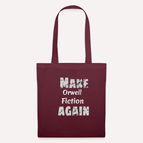 Make Orwell Fiction Again Survaillance Print - Tote Bag