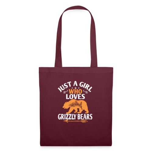 just a girl who loves Grizzly Bears - Tas van stof
