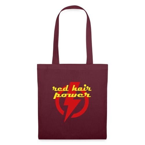 Red Hair Power, de kracht van rood haar - Tas van stof