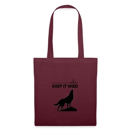 Keep it wild - Stoffbeutel