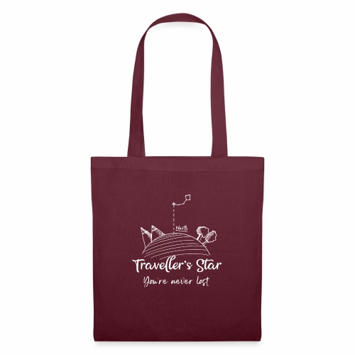 travel's star - Tote Bag