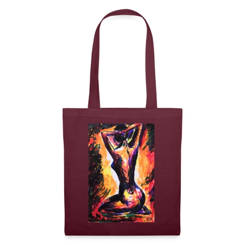 Original Art: A ladies passion - Tote Bag
