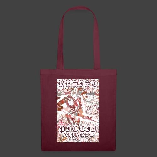 PICTRESIST4 - RED - Tote Bag