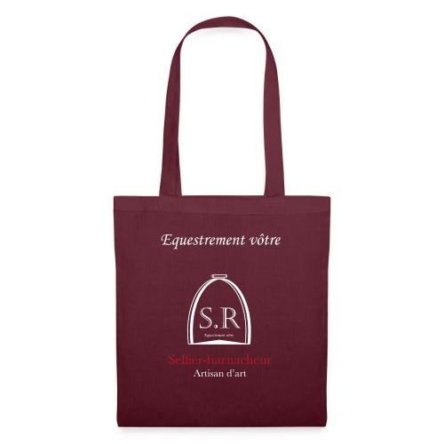 Logo S.R. Equestrement vôtre - Sac en tissu