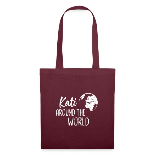 Kati around the world logo - Stoffbeutel