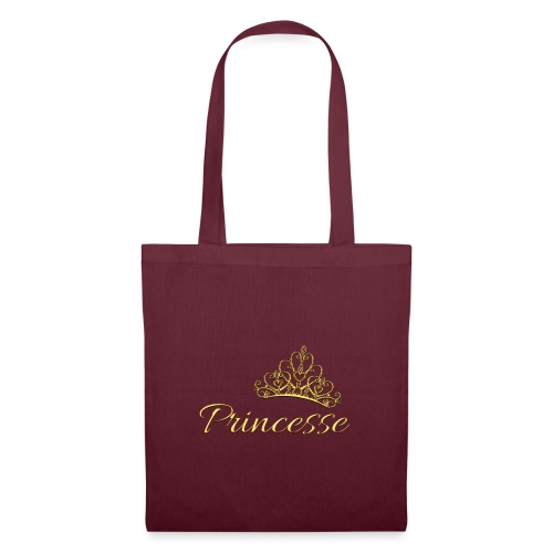 Princesse Or - by T-shirt chic et choc - Tote Bag