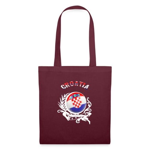 T SHIRT CROATIA Kroatien - Stoffbeutel
