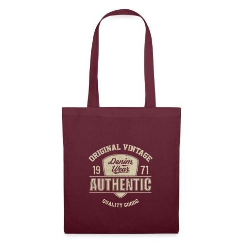 Authentic - Borsa di stoffa