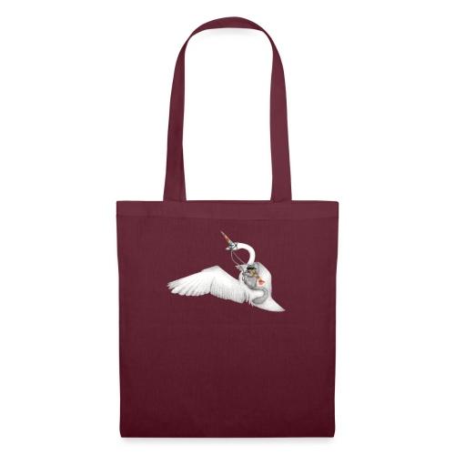 Badass Squirrel and his Uni-Swan - Tote Bag