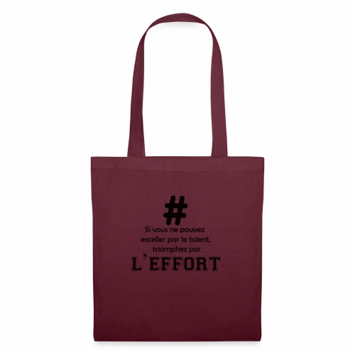 effort - Tote Bag