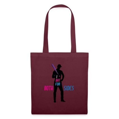 I bat for both sides male - Tote Bag