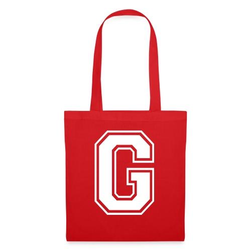 Grime Apparel G Grey Shirt. - Tote Bag