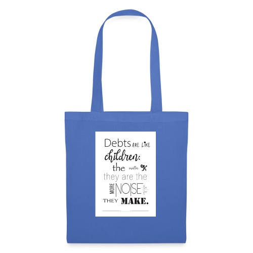 Children's Debt - Tote Bag