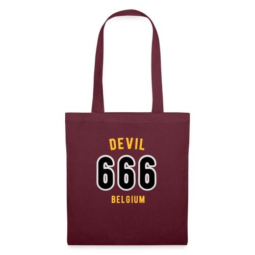 666 devil Belgium - Sac en tissu